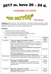 Be Patyčių-Veiksmo savaitės planas-1